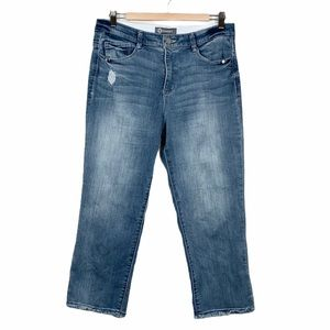 Democracy Ab Technology High Rise Crop Jeans 10